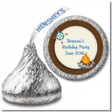 Scavenger Hunt - Hershey Kiss Birthday Party Sticker Labels