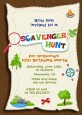 Scavenger Hunt - Birthday Party Invitations thumbnail