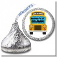 School Bus - Hershey Kiss School Sticker Labels thumbnail