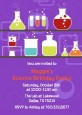 Science Lab - Birthday Party Invitations thumbnail