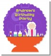 Mad Scientist - Personalized Birthday Party Centerpiece Stand thumbnail