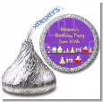 Science Lab - Hershey Kiss Birthday Party Sticker Labels thumbnail