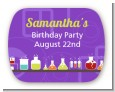 Science Lab - Personalized Birthday Party Rounded Corner Stickers thumbnail