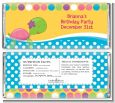 Sea Turtle Girl - Personalized Birthday Party Candy Bar Wrappers thumbnail