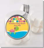 Sea Turtle Girl - Personalized Birthday Party Candy Jar