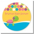 Sea Turtle Girl - Personalized Baby Shower Table Confetti thumbnail