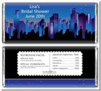 Sex in the City - Personalized Bridal Shower Candy Bar Wrappers