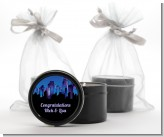 Sex in the City - Bridal Shower Black Candle Tin Favors