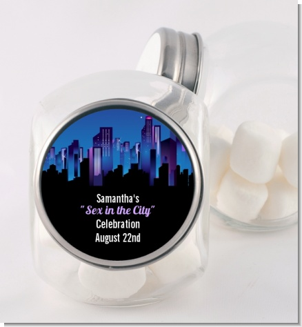 Sex in the City - Personalized Bridal Shower Candy Jar