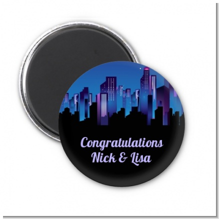 Sex in the City - Personalized Bridal Shower Magnet Favors