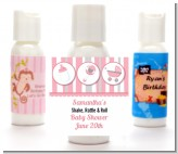 Shake, Rattle & Roll Pink - Personalized Baby Shower Lotion Favors