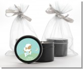 Sheep - Baby Shower Black Candle Tin Favors