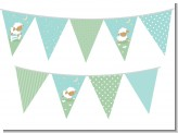 Sheep - Baby Shower Themed Pennant Set