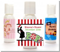 She's Ready To Pop Christmas Edition - Personalized Baby Shower Lotion Favors
