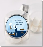 Sip and See It's a Boy - Personalized Baby Shower Candy Jar