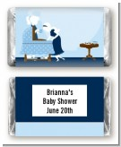 Sip and See It's a Boy - Personalized Baby Shower Mini Candy Bar Wrappers