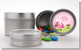 Sip and See It's a Girl - Custom Baby Shower Favor Tins