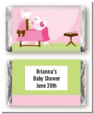 Sip and See It's a Girl - Personalized Baby Shower Mini Candy Bar Wrappers