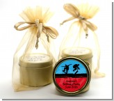 Skateboard - Birthday Party Gold Tin Candle Favors