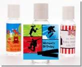 Skateboard - Personalized Birthday Party Hand Sanitizers Favors