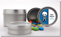 Skeleton - Custom Halloween Favor Tins