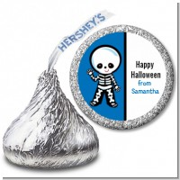 Skeleton - Hershey Kiss Halloween Sticker Labels