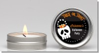 Skull Treat Bag - Halloween Candle Favors