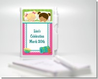 Slumber Party - Birthday Party Personalized Notebook Favor