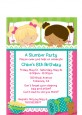 Slumber Party with Friends - Birthday Party Petite Invitations thumbnail