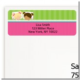 Slumber Party with Friends - Birthday Party Return Address Labels