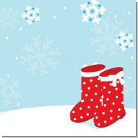 Snow Boots Christmas Theme
