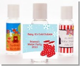 Snow Boots - Personalized Christmas Hand Sanitizers Favors