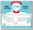 Snow Globe Winter Wonderland - Personalized Birthday Party Candy Bar Wrappers thumbnail