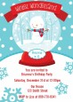 Snow Globe Winter Wonderland - Birthday Party Invitations thumbnail