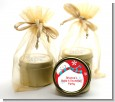 Snowman Fun - Christmas Gold Tin Candle Favors thumbnail