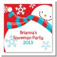 Snowman Fun - Personalized Christmas Card Stock Favor Tags thumbnail