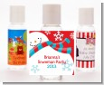 Snowman Fun - Personalized Christmas Hand Sanitizers Favors thumbnail