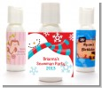 Snowman Fun - Personalized Christmas Lotion Favors thumbnail