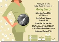 Sonogram It's A Baby - Baby Shower Invitations