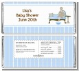 Spa Mom Blue - Personalized Baby Shower Candy Bar Wrappers thumbnail