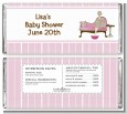 Spa Mom Pink - Personalized Baby Shower Candy Bar Wrappers thumbnail