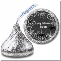 Spider Webs - Hershey Kiss Halloween Sticker Labels