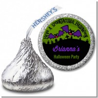Spooky Bats - Hershey Kiss Halloween Sticker Labels