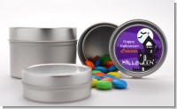 Spooky Haunted House - Custom Halloween Favor Tins
