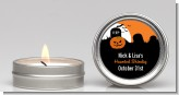Spooky Pumpkin - Halloween Candle Favors