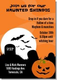 Spooky Pumpkin - Halloween Invitations