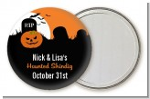 Spooky Pumpkin - Personalized Halloween Pocket Mirror Favors