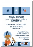 Sports Baby African American - Baby Shower Petite Invitations