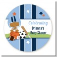 Sports Baby African American - Personalized Baby Shower Table Confetti thumbnail