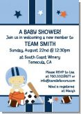 Sports Baby Asian - Baby Shower Invitations